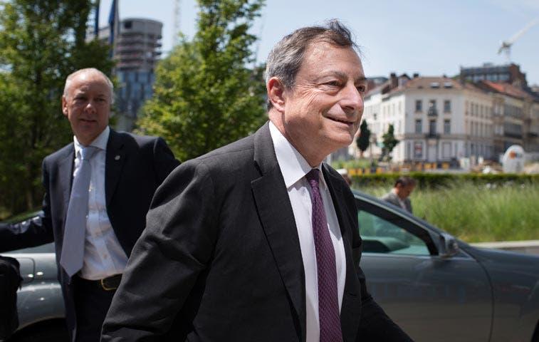 """""""Lo que haga falta"""" de Draghi lleva tres años dando buenos resultados"""