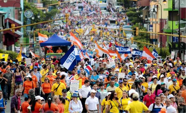 Sindicalistas defienden salarios