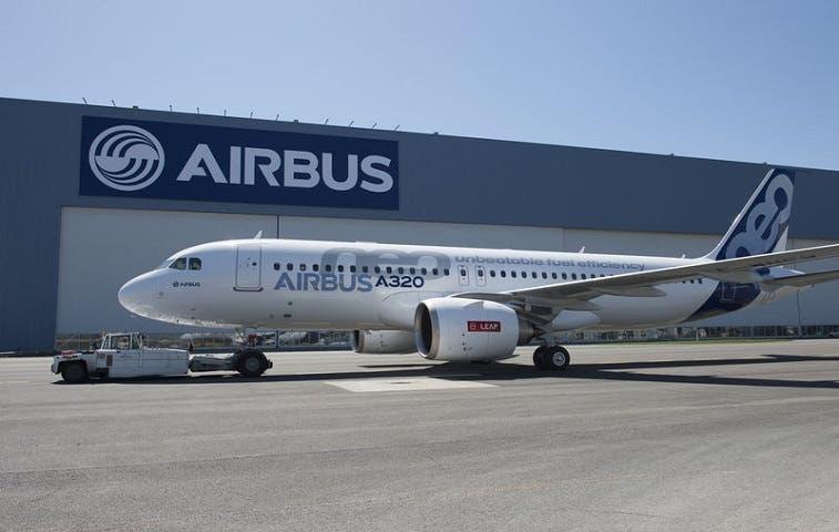 Producción de más A320 de Airbus presionaría  proveedores