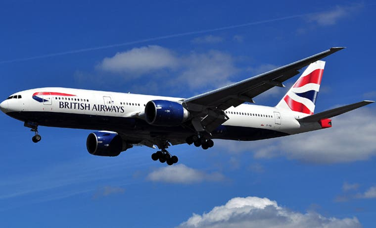 British Airways viene a Costa Rica