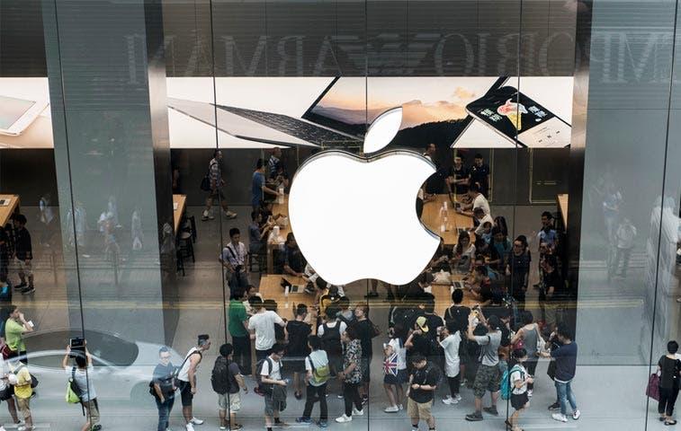 Acciones de Apple van mal, las de Samsung también