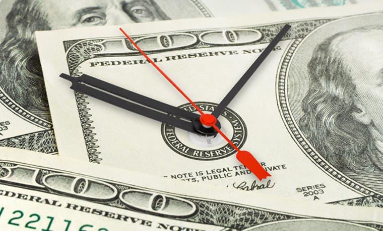 Poco tiempo para crédito barato en dólares