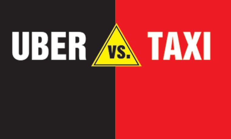 Uber versus taxis