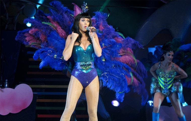 Katy Perry arrasa en ventas