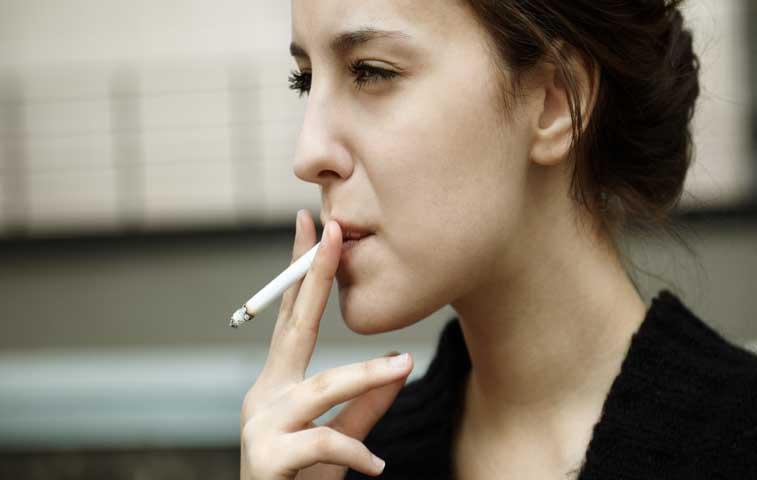 Los chicos y los cigarrillos