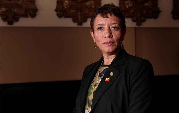 Presentan denuncia contra viceministra Carmen Muñoz