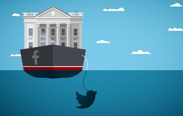 Bancos naufragan en redes sociales