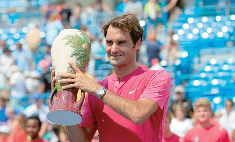 ¡Inacabable Federer!