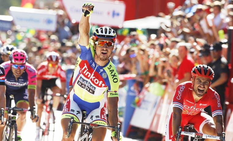 Por fin ganó Sagan