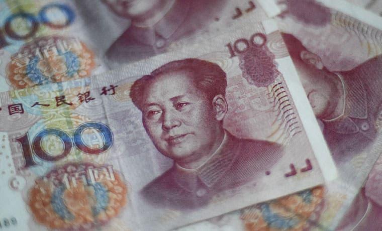 Venden bonos de EE.UU. para defender el yuan