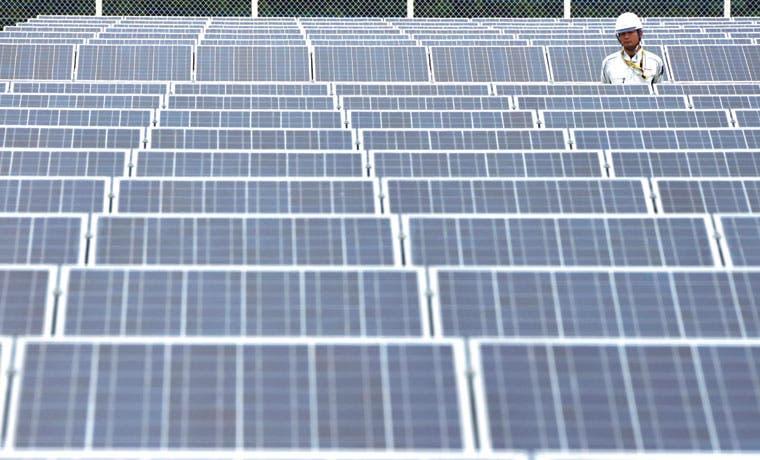 Crecimiento exponencial de la energía solar