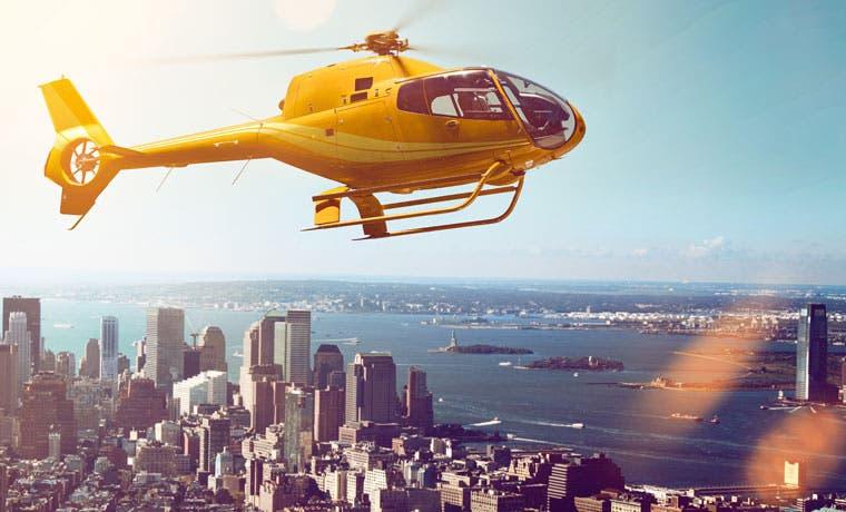 Uber en versión helicóptero gana popularidad