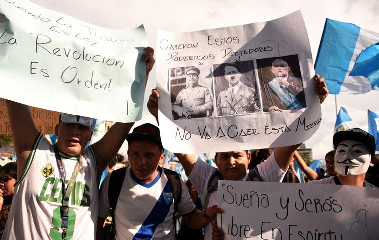 El escándalo presidencial que podría salvar a Guatemala