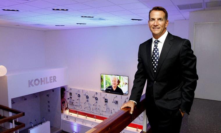 Kohler remodela sala de exhibiciones