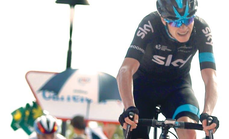 Froome abandonó la Vuelta