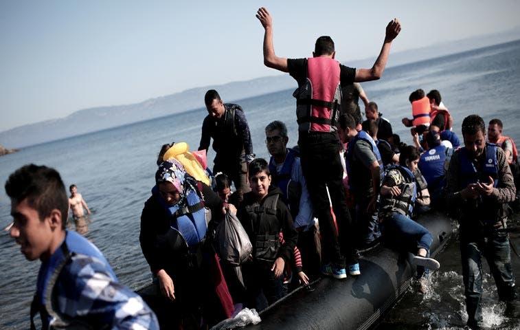 Alemania y Francia piden un mecanismo para el reparto de refugiados