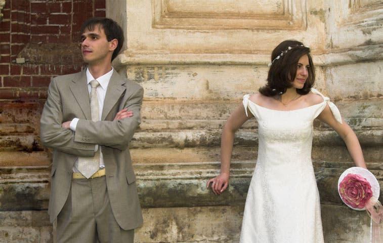 Matrimonio por iglesia pierde interés