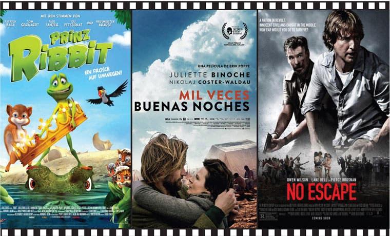 Dramas y aventura animada llegan a los cines