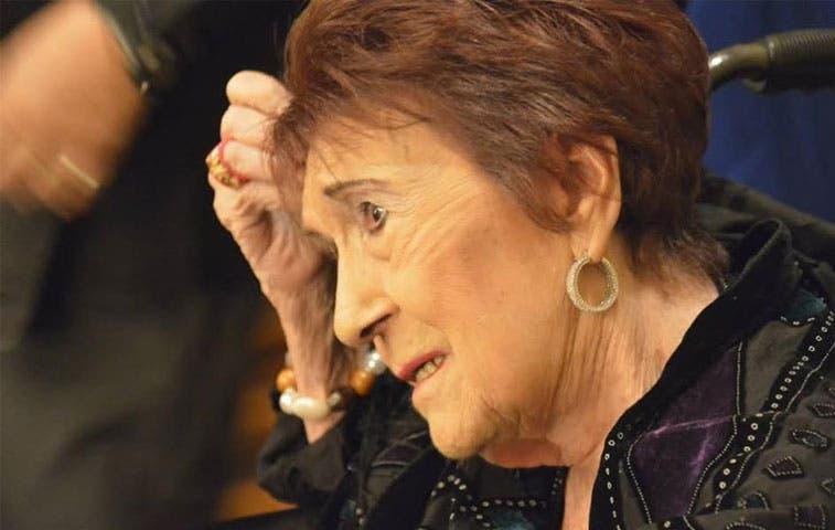 Falleció actriz nacional Ana Poltronieri