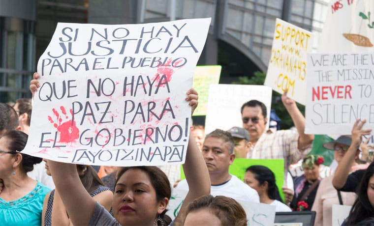 Presidente de México no ayuda a generar confianza
