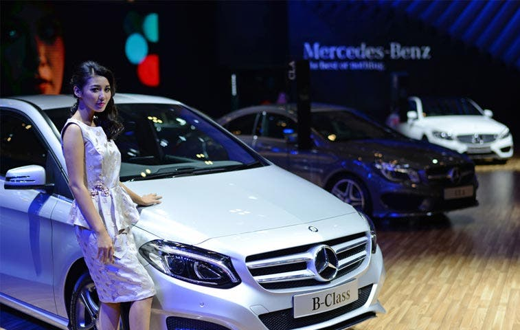 Mercedes supera a Audi y alcanza segundo puesto en ventas de lujo