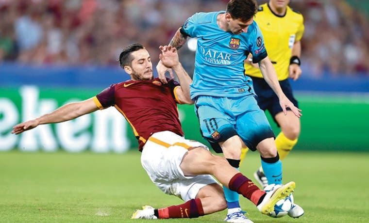 Barça, atascado en Roma