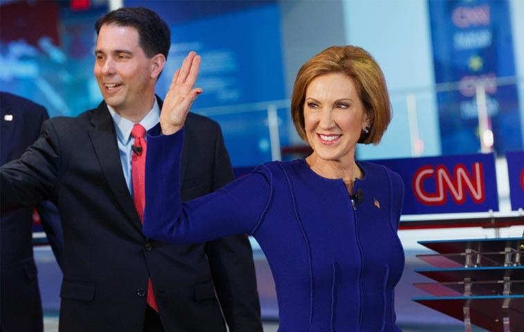 Carly Fiorina: la ganadora en debate de CNN