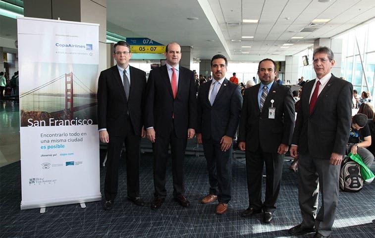 Copa Airlines inaugura vuelos directos a San Francisco