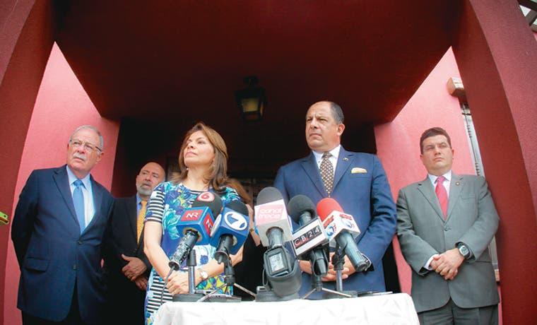 Chinchilla apoya referendo por empleo público