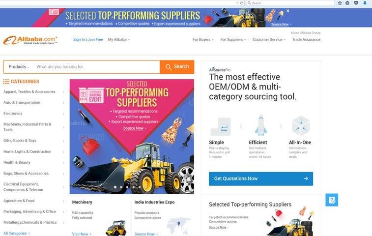 Exportadores ticos podrán vender en Alibaba.com