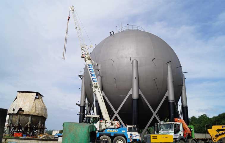 Recope firma crédito para proyecto de gas