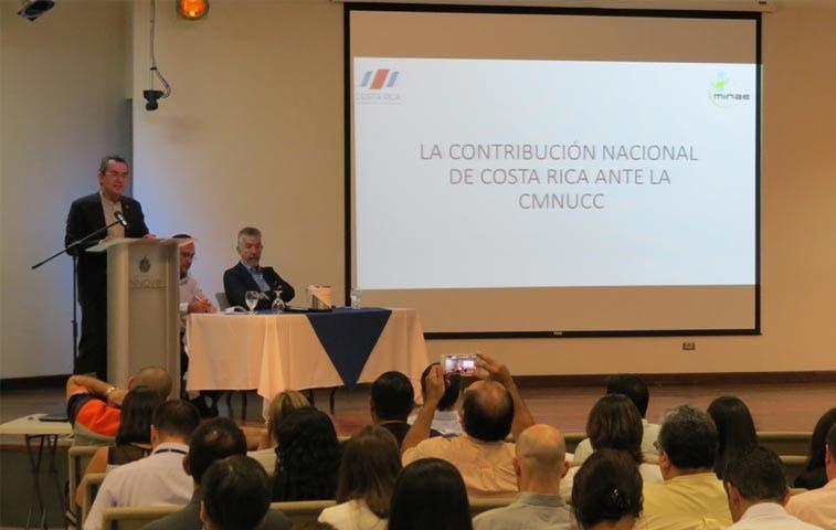 Costa Rica presentará plan en convención sobre cambio climático