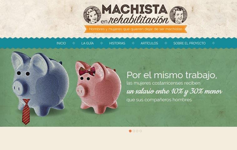 Sitio web Machistas en Rehabilitación lanza segunda etapa