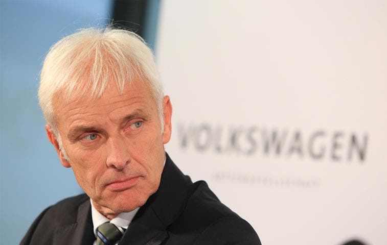 CEO de Porsche liderará Volkswagen