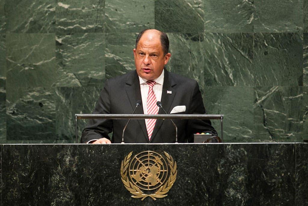 Solís aboga por por un Consejo de Seguridad democrático y eficaz