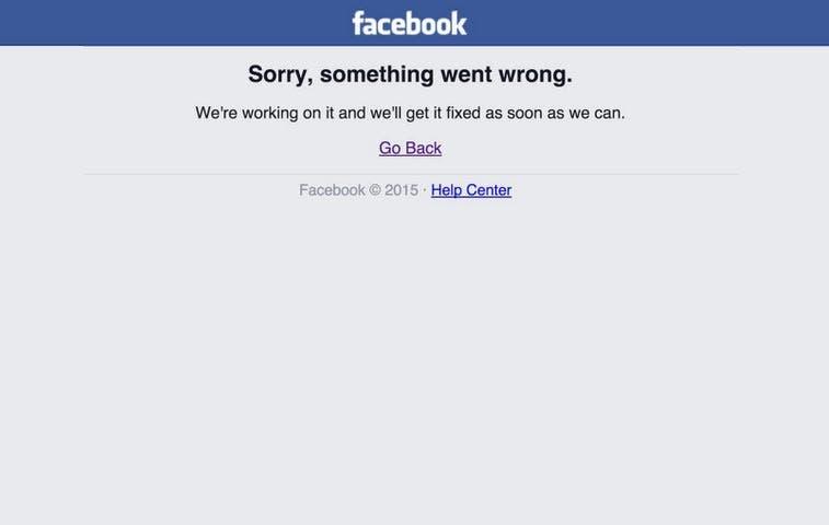 Facebook registra falla por tercera vez en el mes