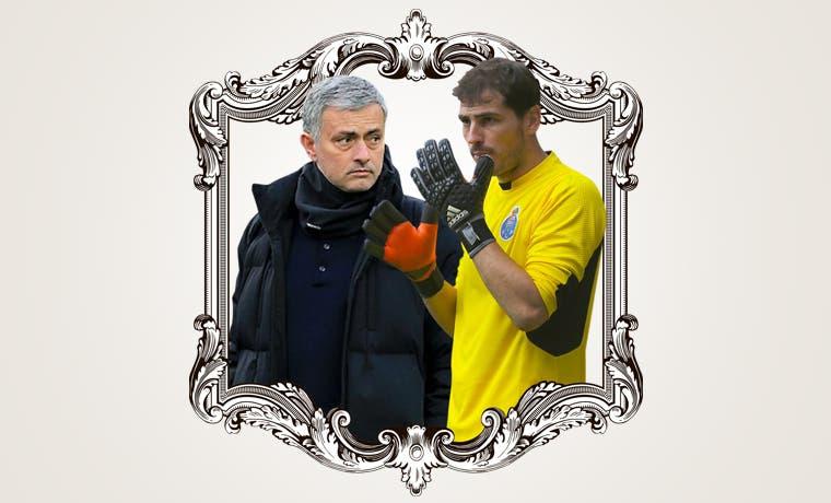 Mourinho-Casillas: el reencuentro