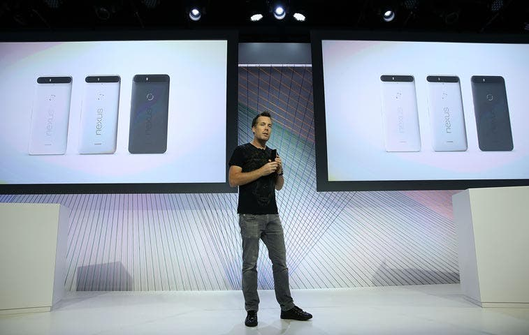 Google presentó sus nuevos smartphones