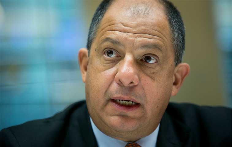 Solís propone alianza estratégica con Caricom