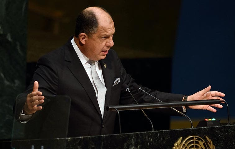 Solís insiste a la ONU elegir una secretaria general mujer