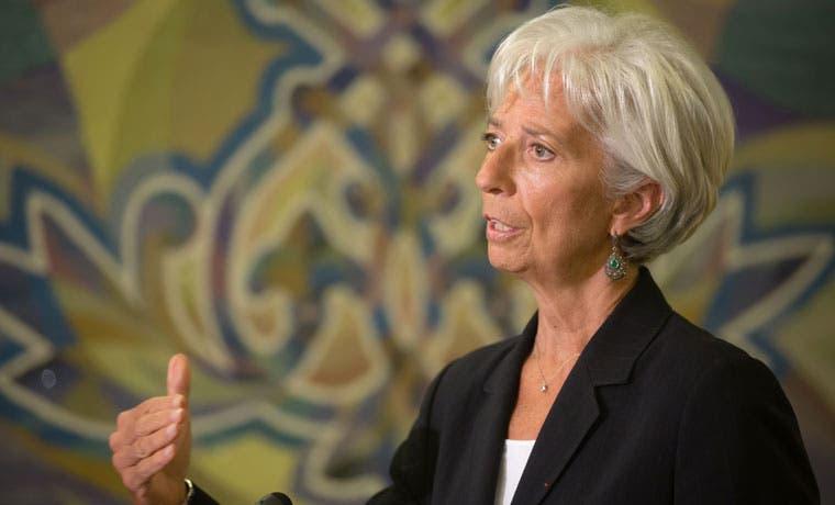 Lagarde ve paso lento en la economía global