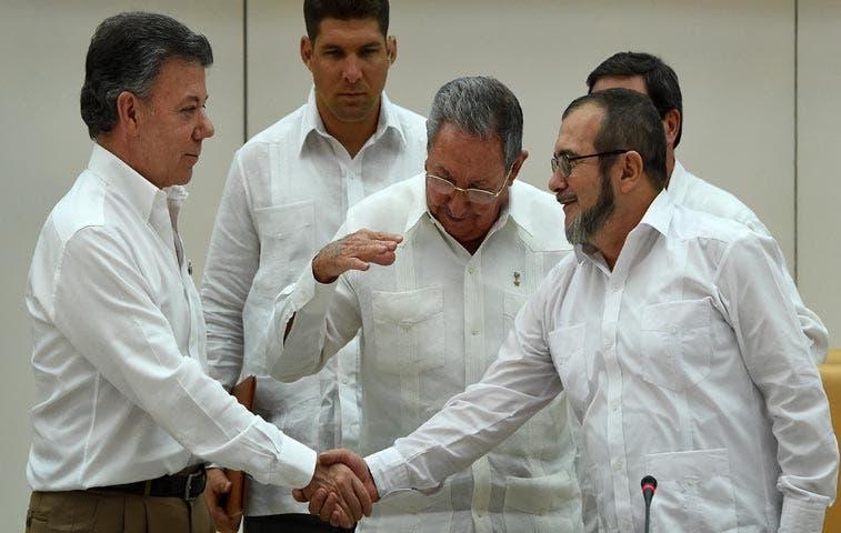 Negociadores en Colombia y Merkel: favoritos para Nobel de la Paz
