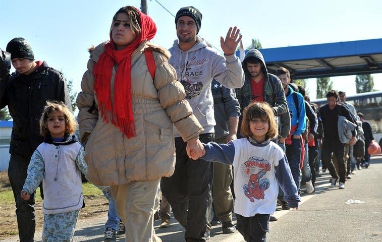 Alemania registró a cerca de 163 mil refugiados en septiembre