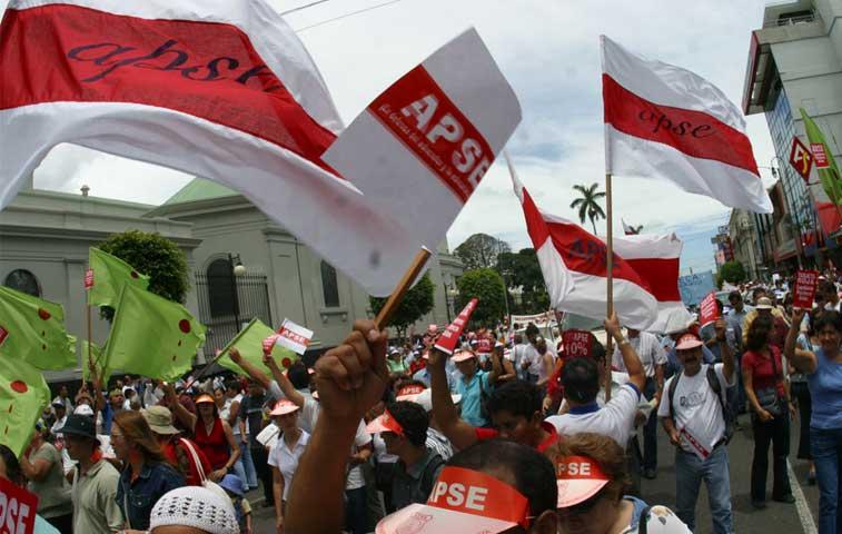 Sindicatos llaman a huelga el próximo viernes 16 de octubre
