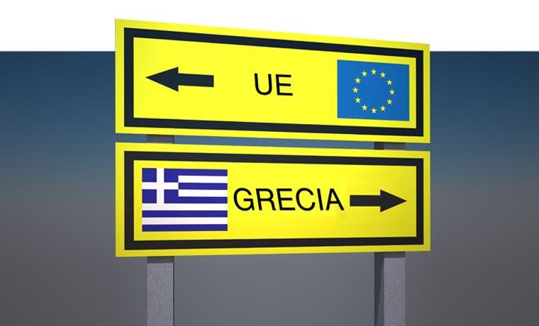 Crisis de refugiados afectaría los lazos griegos con zona euro