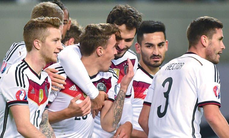 ¡Alemania a la Eurocopa!