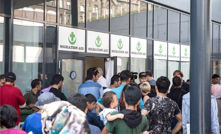 Alemania se divide por tema de refugiados