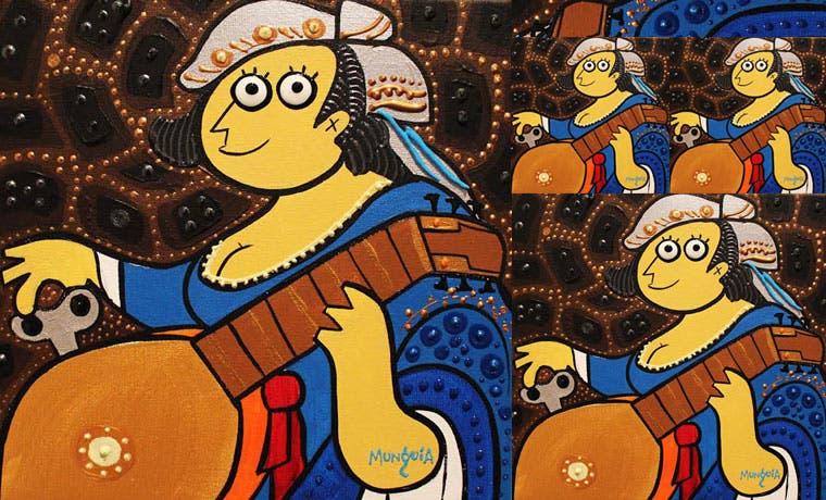 Tres artistas llenan de arte la Galería Nacional