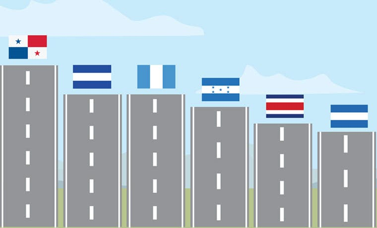 Centroamérica nos rebasa en infraestructura