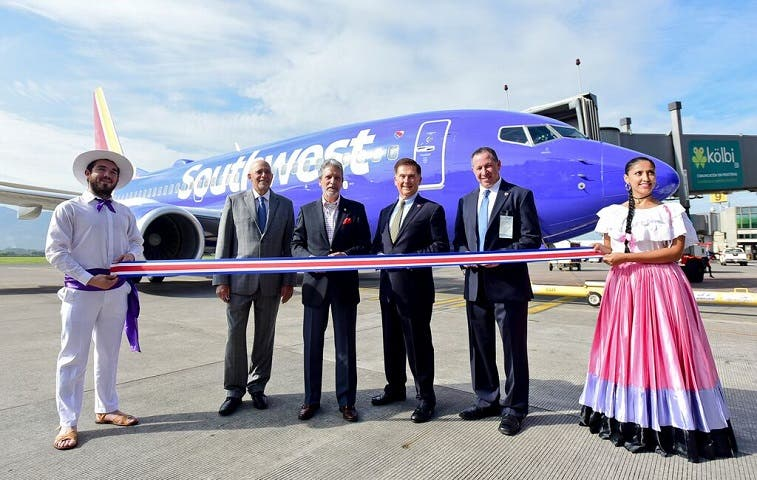 Southwest inauguró nueva ruta San José-Houston